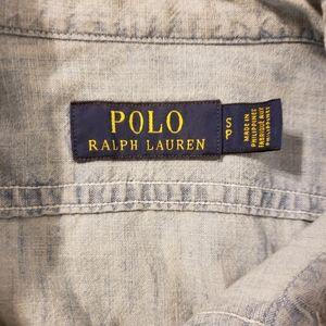 Polo by Ralph Lauren Shirts - Polo Ralph Lauren naval regatta chambray